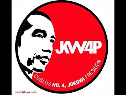 Logo JKW4P Jokowi