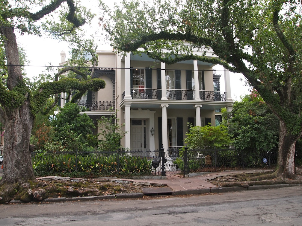 Anne Rice Home Garden District