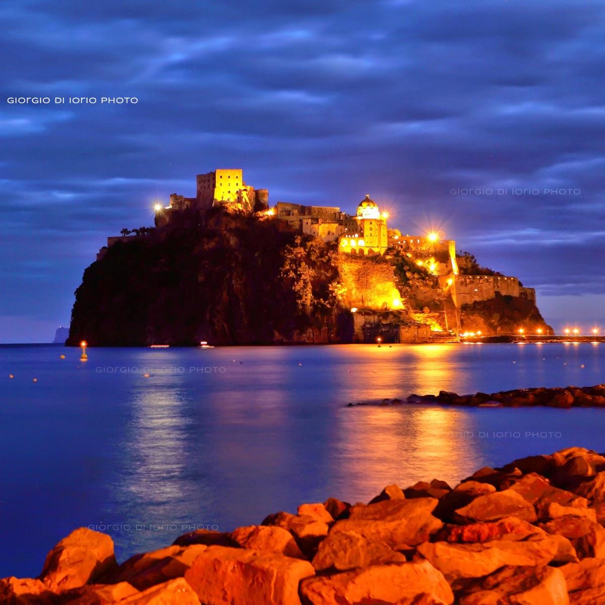 Ischia di notte - Verso sera