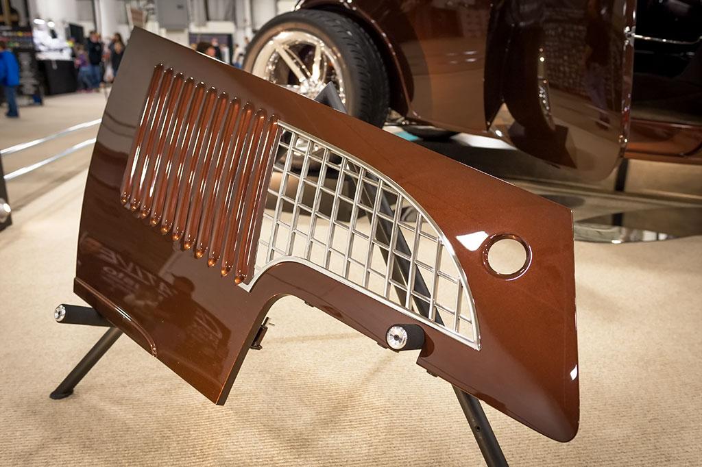 Side panel from Rocky Boler's 1933 Ford Five Window