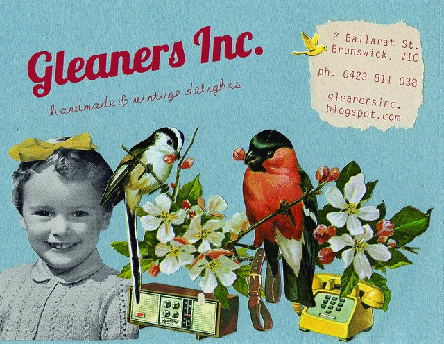 Gleaners Inc. ::2 Ballarat St. Brunswick::