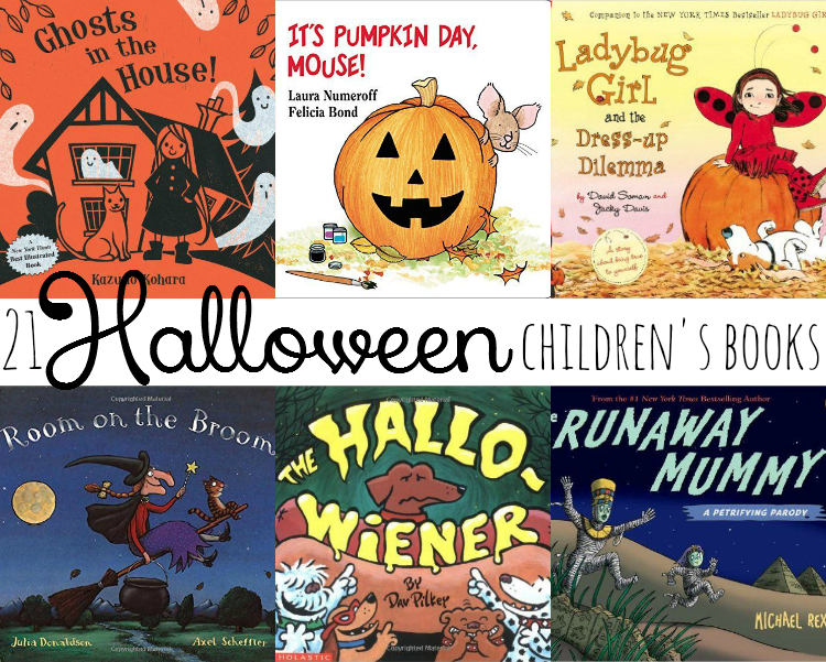 Sweet Turtle Soup - 21 Delightful Children's Books for Halloween