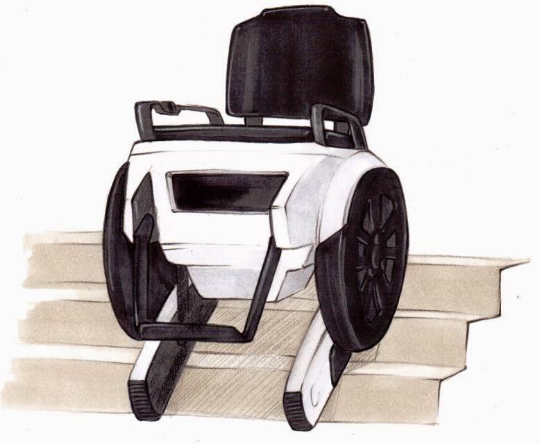 Beni winter scalevo stair climbing wheelchair for Chaise volante