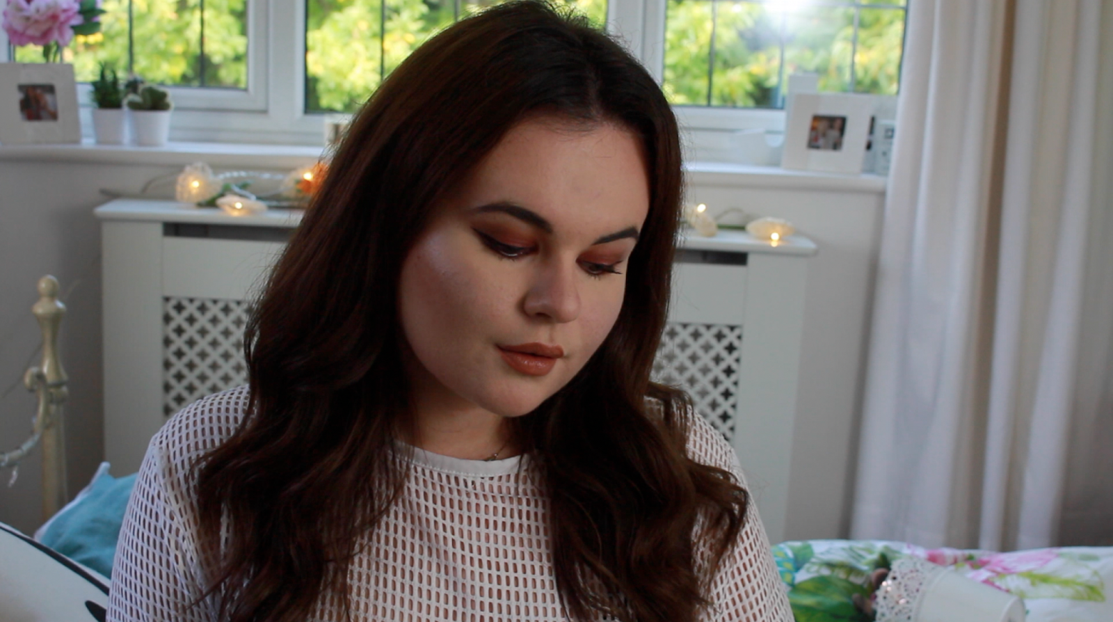 Smokey Eye and Nude Lip Make Up YouTube Tutorial