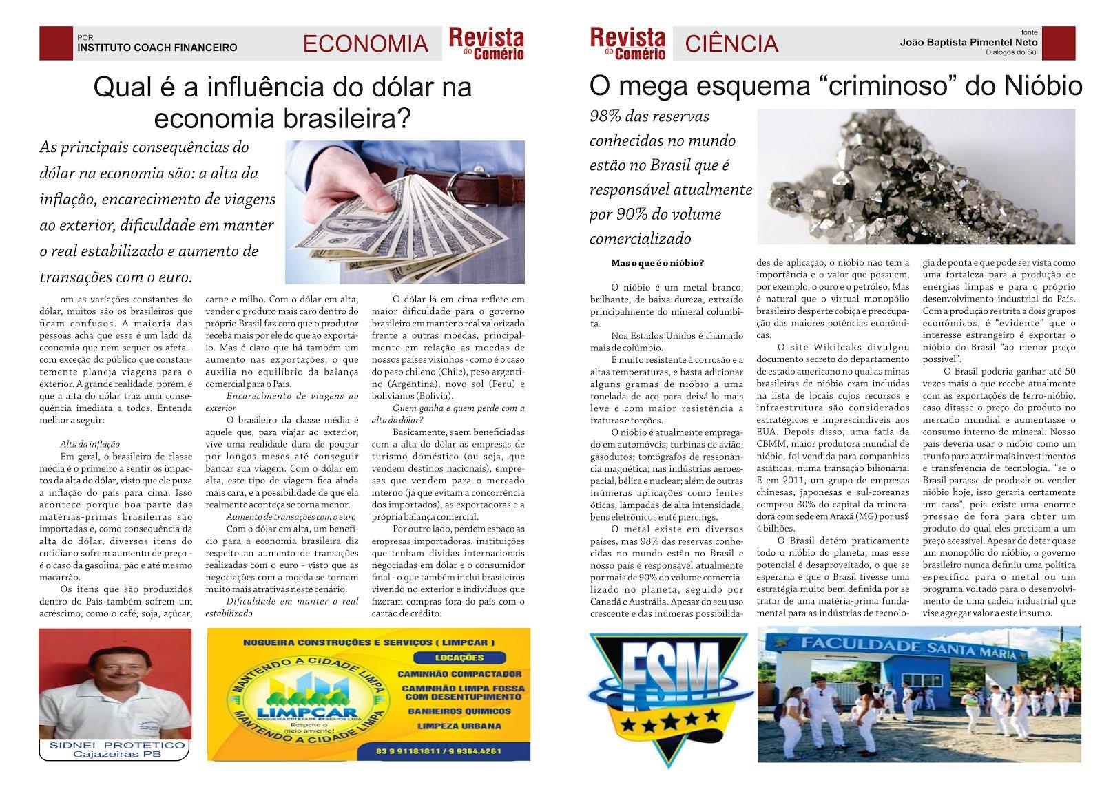 REVISTA  DO COMÉRCIO PB 25 ANOS  DE ATIVIDADES