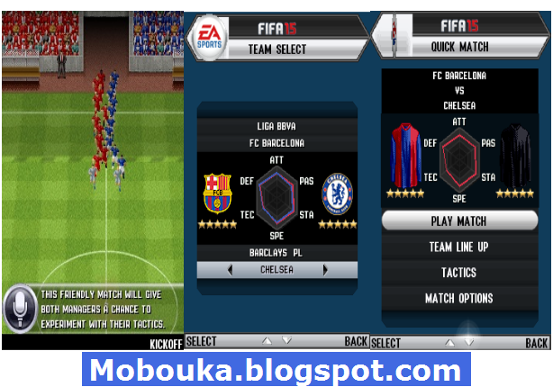 FIFA 15 JAR [JAVA] screenshots