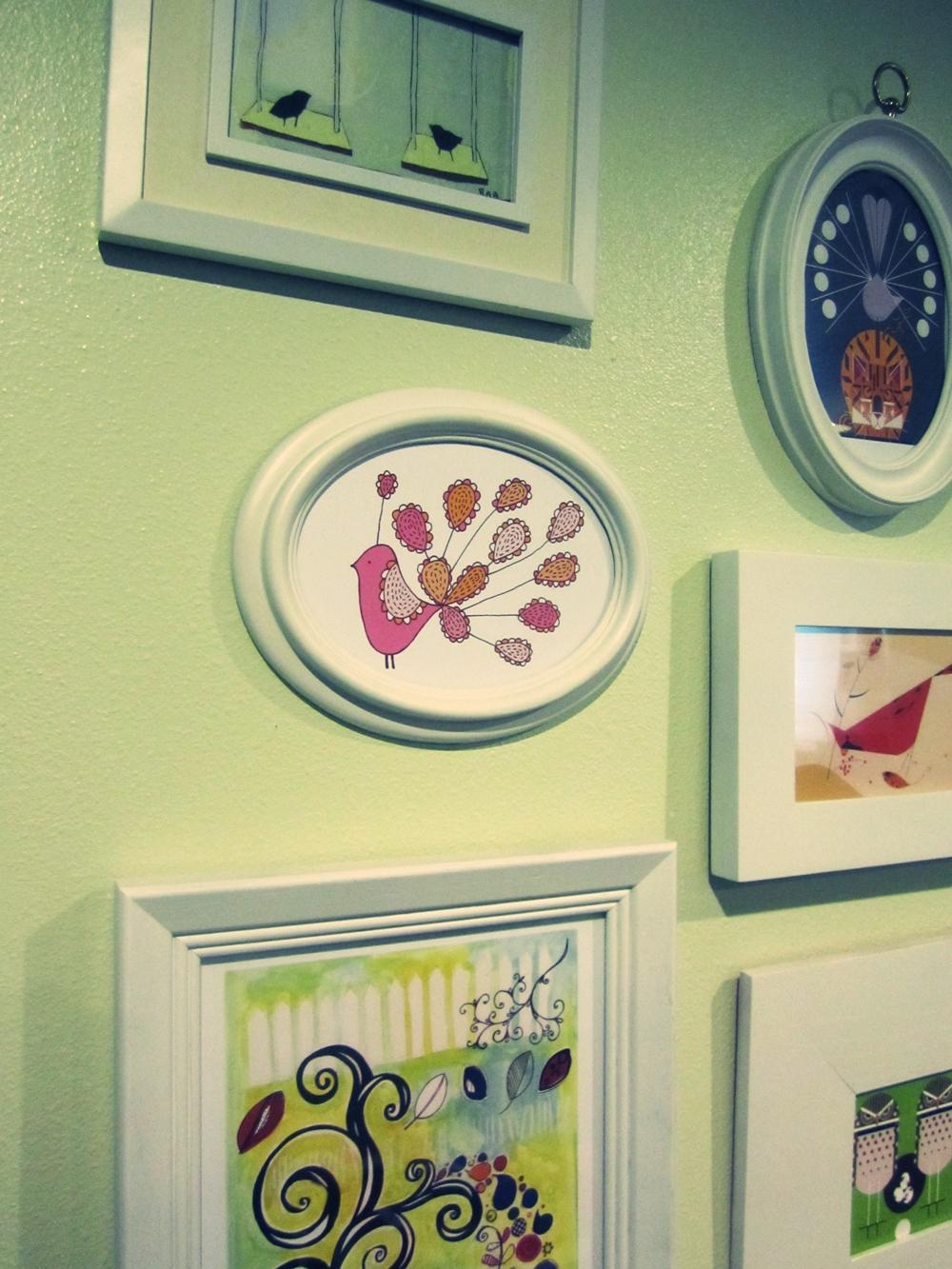 smartgirlstyle: wall art collage