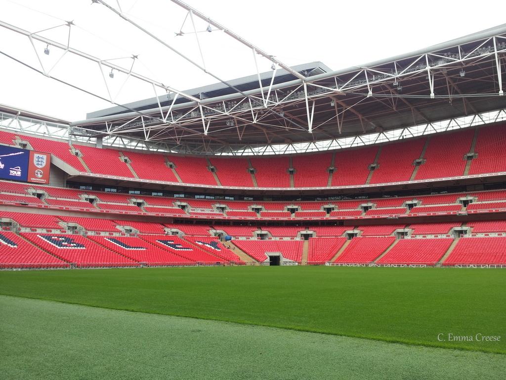 Wembley Stadium, a (kiwi) birds eye view