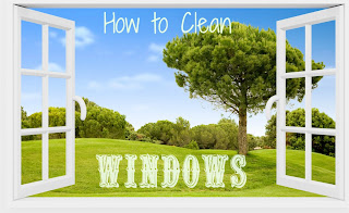 how to clean hard to reach outside windows