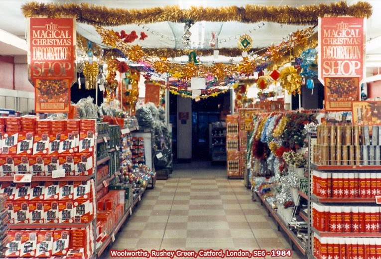 Christmas Decorations Woolworths 1965