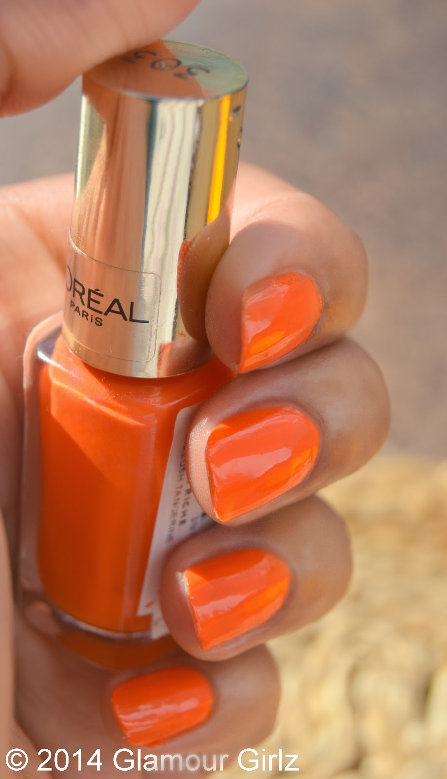 L'Oreal Color Riche 303 Tangerine.