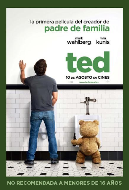 Gana una entrada cine gratis para el Preestreno de Ted.