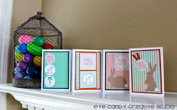 easter bunny, Easter card making, Silhouette projects, hoppy Easter