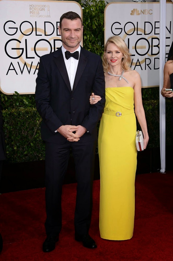 Naomi Watts: 2015 Golden Globe Awards