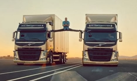 Viral video: Jean-Claude Van Damme 'The Epic Split' Volvo ad