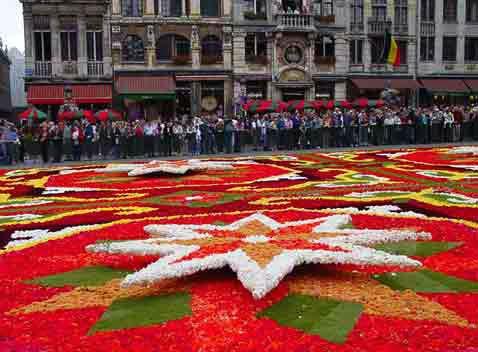 karpet bunga [DuniaQ Duniamu]