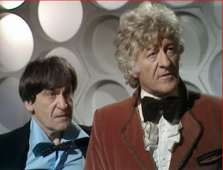 Troughton and Pertwee via The Daily Drew