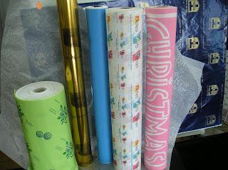 rollo de papel personalizado (impreso)