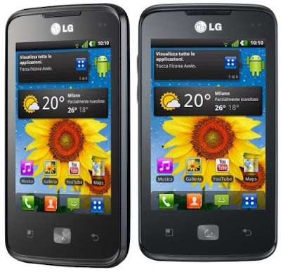 LG Optimus Hub specifications revealed