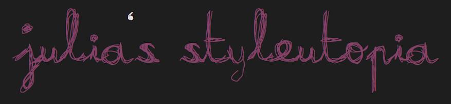 julia's styleutopia