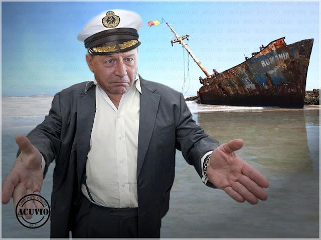 Traian Băsescu on Facebook funny image