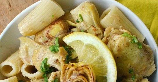 Chicken and Artichokes in Wine Sauce   Cocinando con Alena