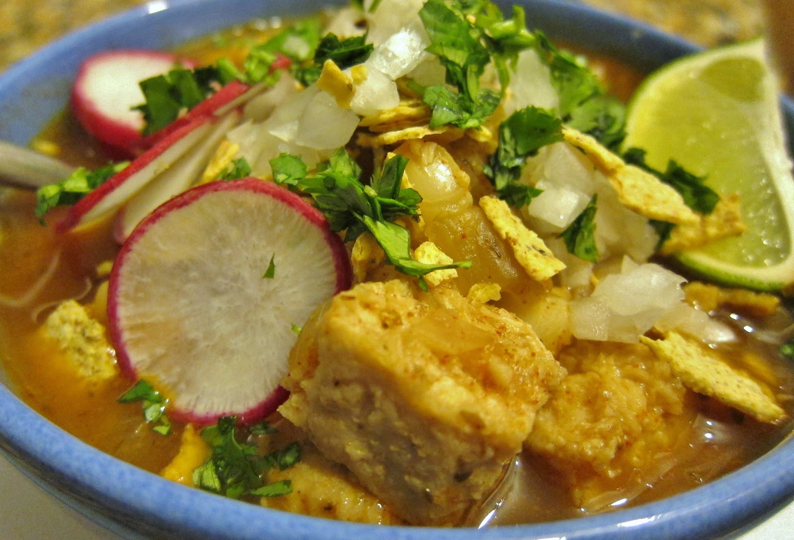 The Vegan Chronicle: Posole