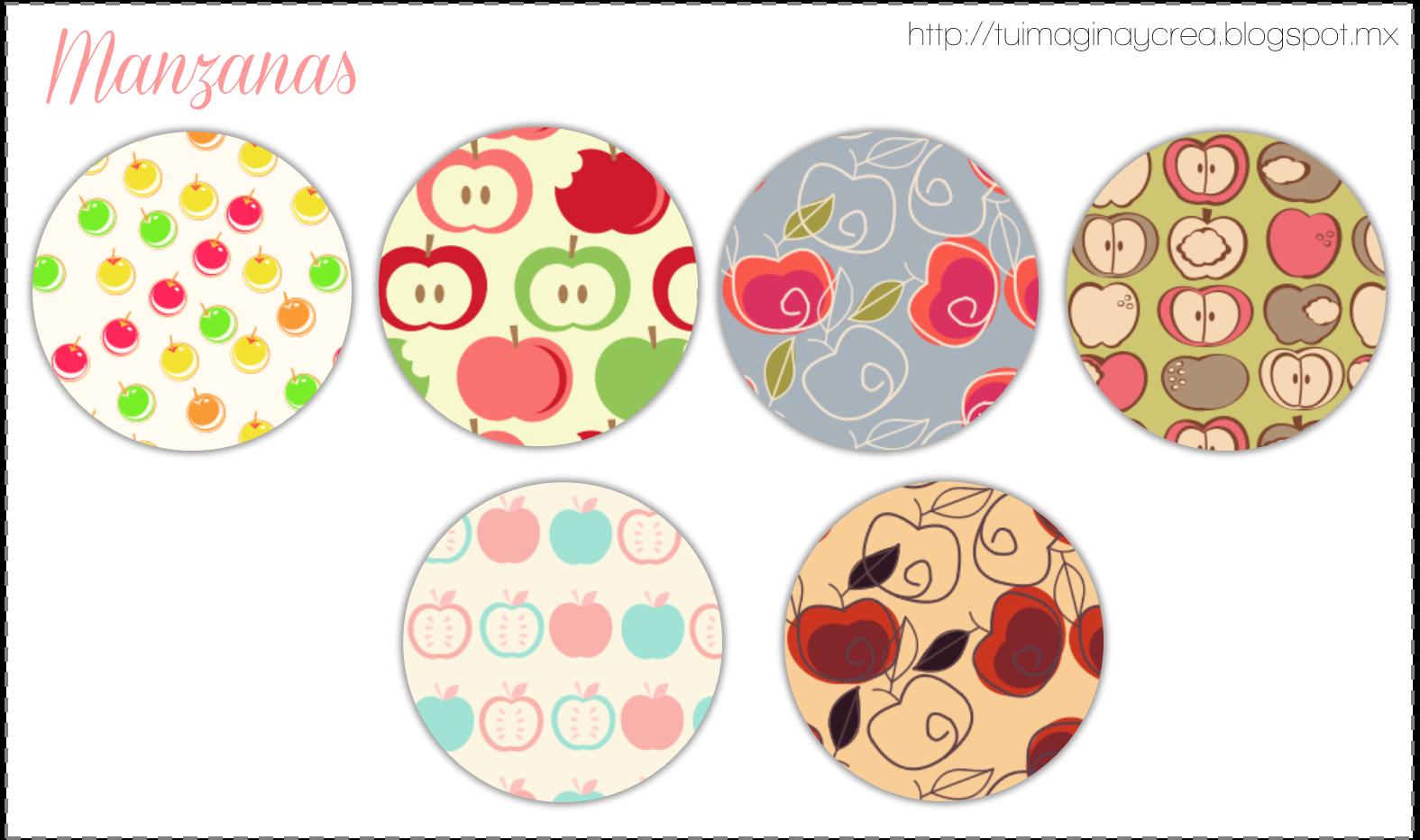 pattern manzanas