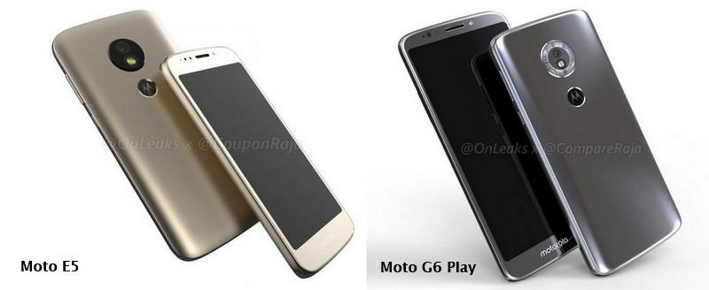Motorola meluncurkan Moto G6 dan E5