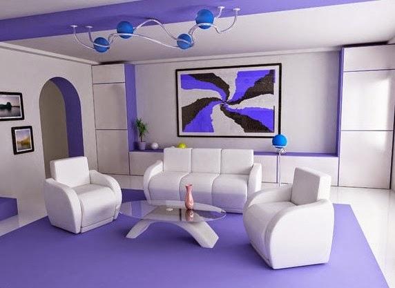 Ruang Tamu yang Cantik nan Elegan