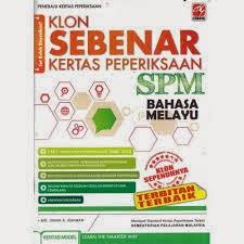 Soalan Peperiksaan SPM 2013 Bahasa Melayu Kertas 1 Dan 2