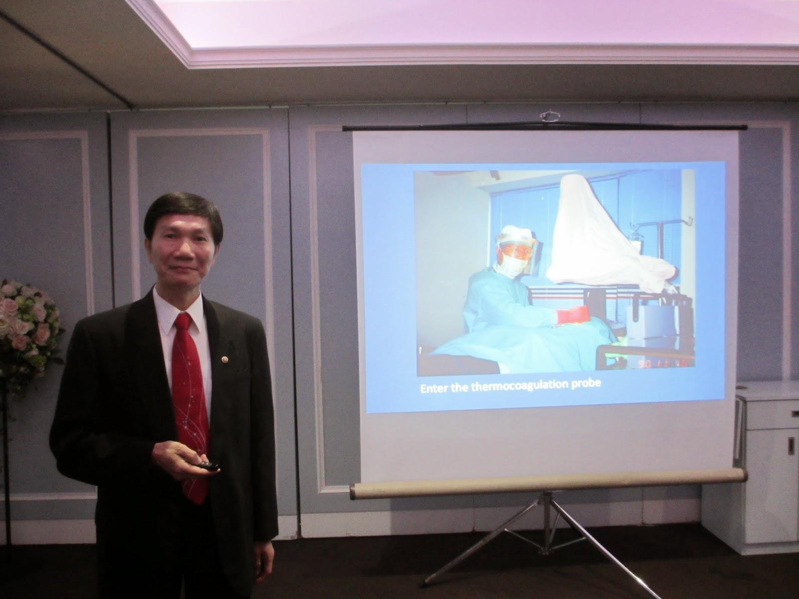 手汗治療專家莊金順醫師-受邀參加高雄西區扶輪社專題演講