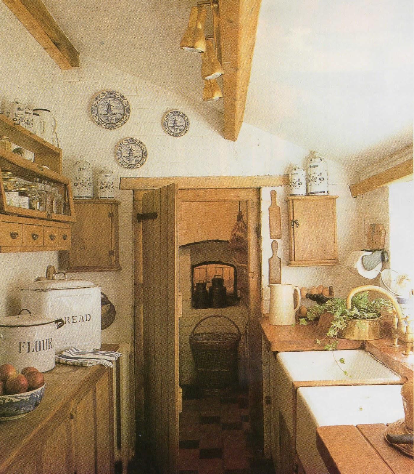 Detalles con encanto las cocinas de las casas rurales - Cocinas tradicionales blancas ...