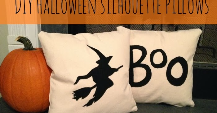 Diy Halloween Pillows Home Sweet Ruby