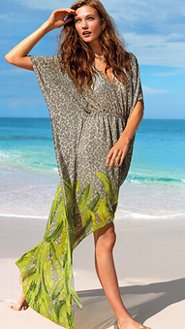 Al escoger un vestido de playa