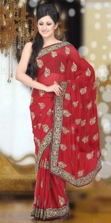 Bridal-Wear-Saree 2013
