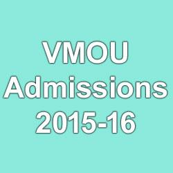 VMOU Admission form 2015