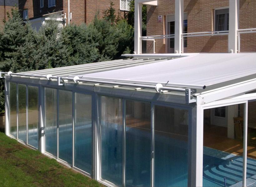 Montaje de techos m viles cerramientos en murcia 674 - Techos de policarbonato precios ...