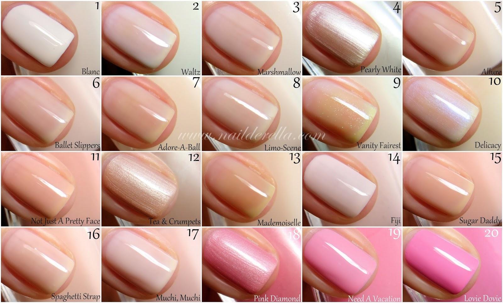 Essie Color guide #1-100! | Nailderella | Bloglovin\'