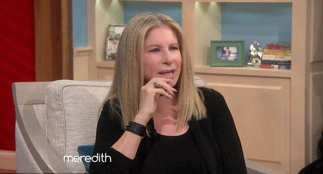 Yap! I will say that James Brolin is a lucky husband ever and Barbra told everything about them first meet to the Meredith Vieira show on Wednesday, November 12, 2014.