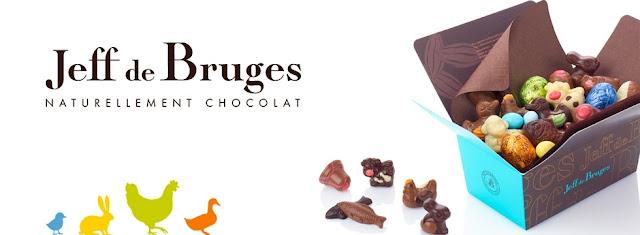 10 Ballotins de 500g de chocolats Jeff de Bruges de Paques