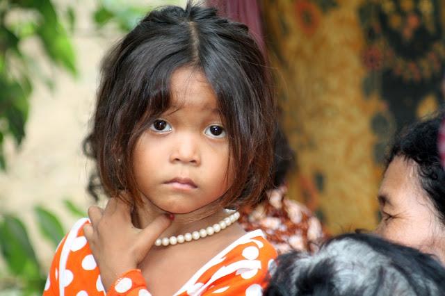 Enfant khmère
