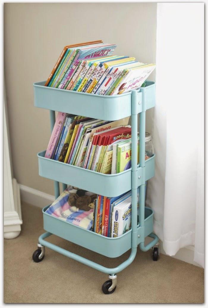 En casa de oly ideas para guardar los libros de los ni os Librerias de pared