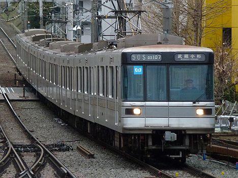 東京メトロ日比谷線 東横線直通 菊名行き2 03系幕車(廃止)