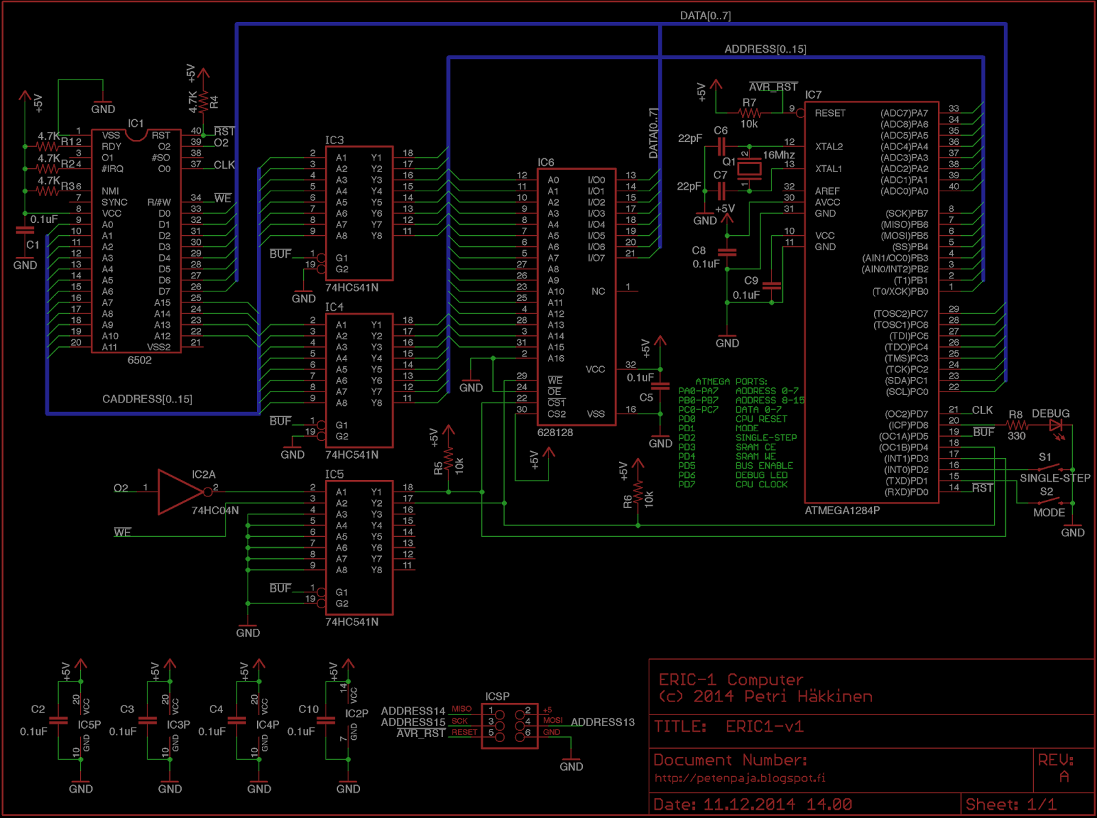 Peten Paja 2014 6502 Logic Diagram Some Of You May Remember An Obscure Based Computer The Oric From 80s It Was Not A Hugely Popular And In Fact Ive Never Even Seen One