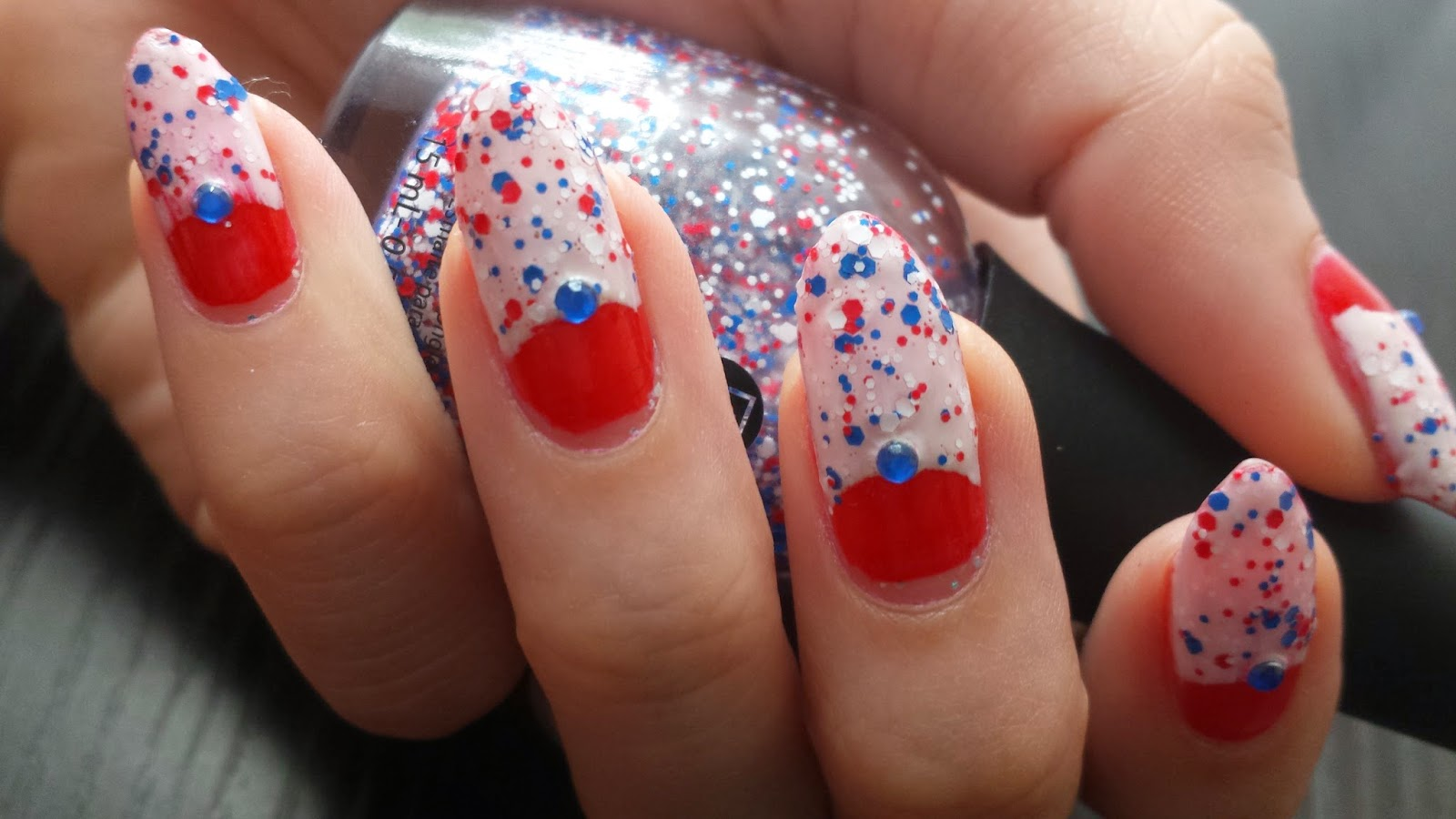 Pinkie Swear Nails: Fourth of July Nails