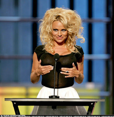 FREE NUDE CELEBS PICTURES & VIDEOS: Pamela Anderson See Through Nips.