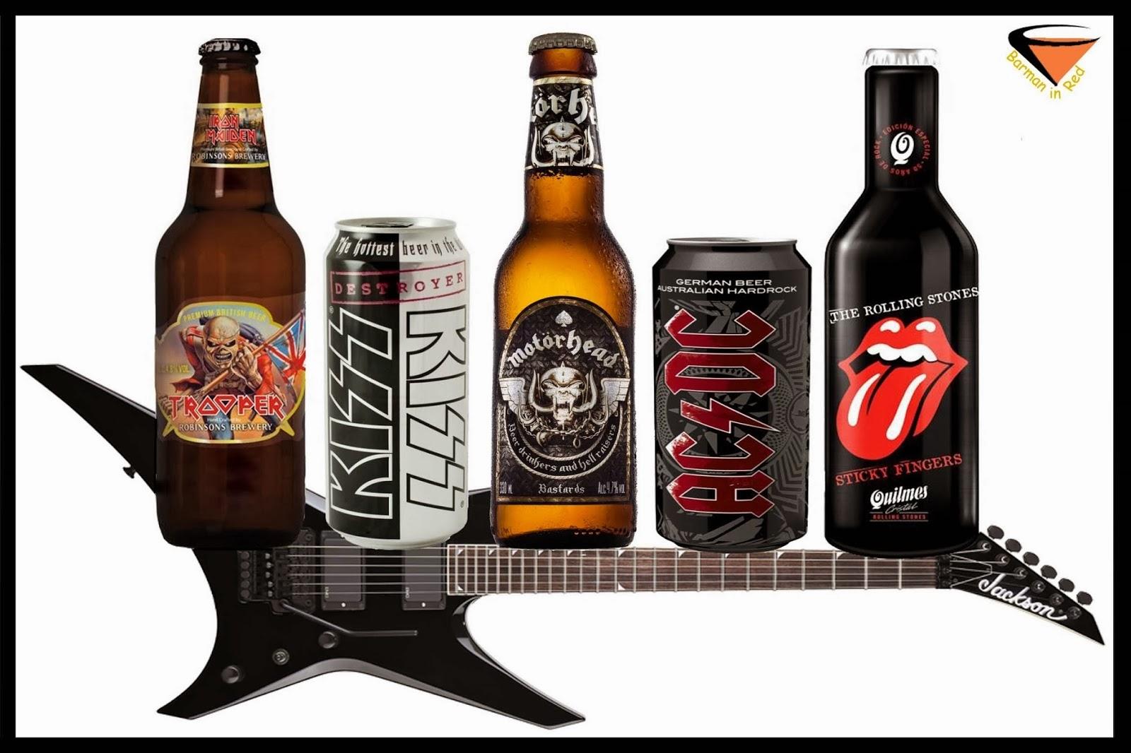 cerveza y rock