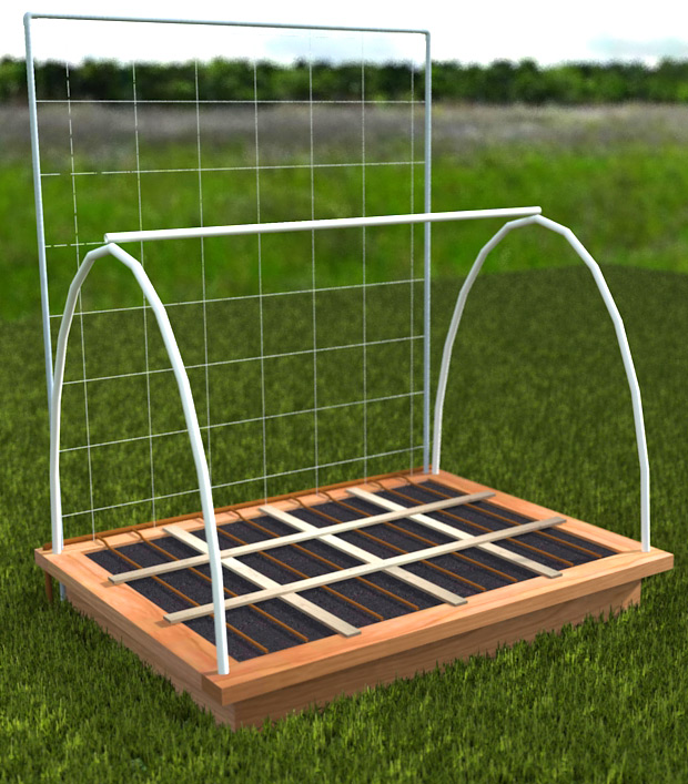 Ultimate Square Foot Garden Bed