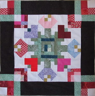 October Quilt Pattern Block of the Month